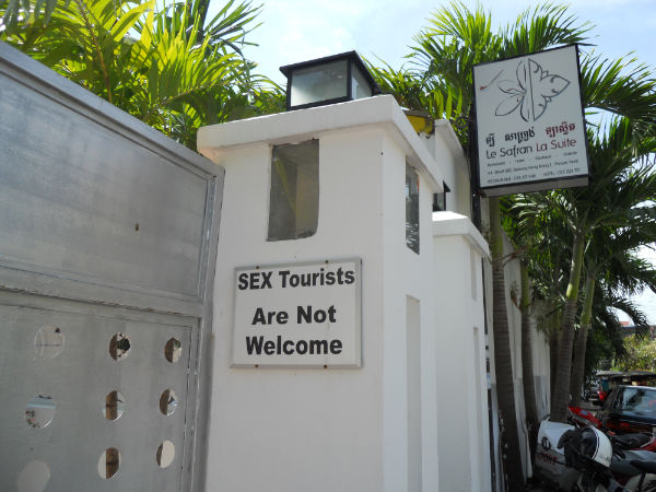 Some hotels take a stand against sex-tourism.