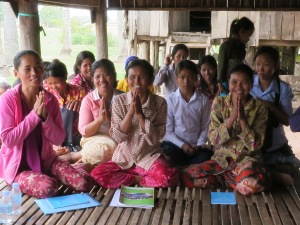 COCD Women's Self Help Group in village of Doun